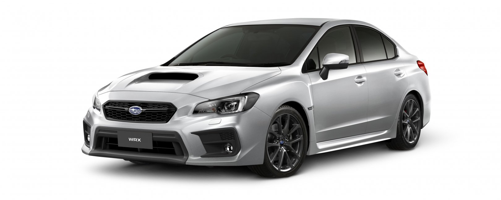 2020 WRX in ice silver
