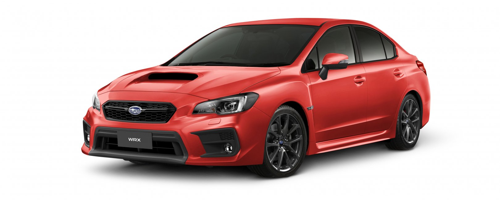 2020 WRX in pure red