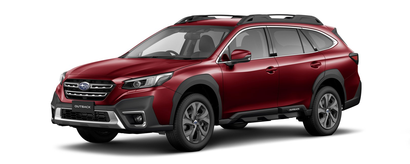 2021 Outback - crimson red