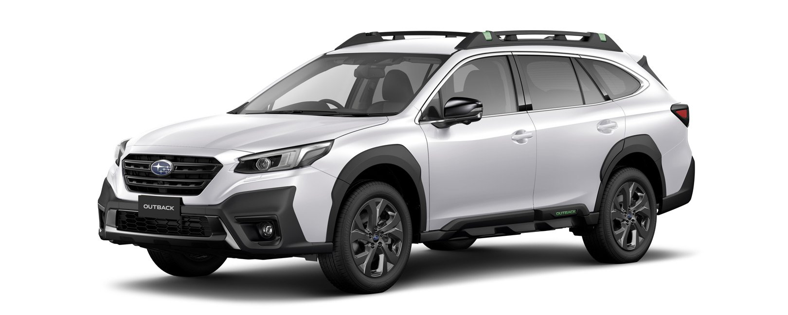 2021 Outback X - crystal white