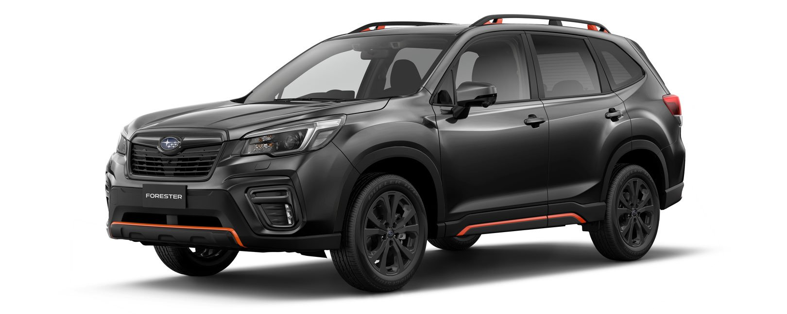 Forester X Sport in magnetite grey