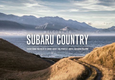 The Subaru Country Brochure, everything you need to know about the perfect drive for New Zealand.