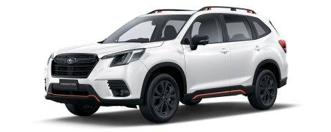 2022 Forester X Sport_Crystal White Pearl