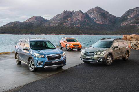 The All-Wheel Drive Subaru SUV range has led to an all-time record number of SUV sales for Subaru New Zealand in one year.