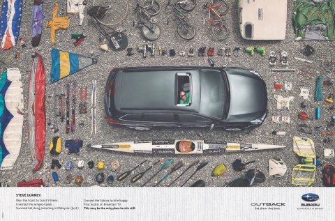 Subaru campaign by Barnes, Catmur & Friends Dentsu