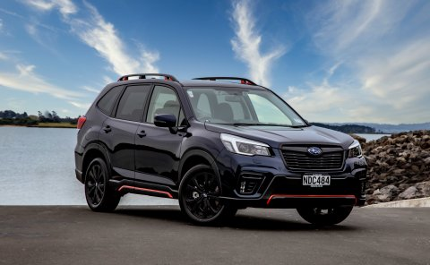 This extraordinary new Subaru Forester X has a host of aesthetic features including the head turning orange accents – inside and out.