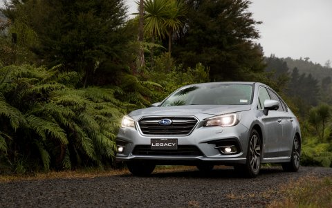 The 2020 Subaru Legacy 3.6RS.