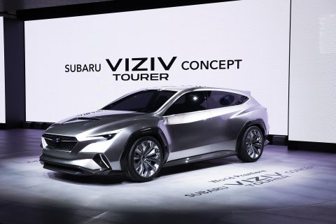 Subaru Corporation has unveiled the Subaru VIZIV* Tourer Concept at the 88th Geneva International Motor Show, today.