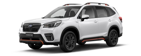 Forester X Sport in crystal white