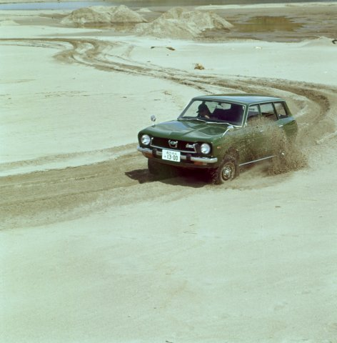 Subaru's All-Wheel Drive (AWD) story began with the Subaru Leone 4WD Estate Van, Japan's first mass-produced AWD passenger car, in September 1972.