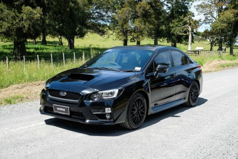 There are only five Subaru WRX Black Editions available in New Zealand.