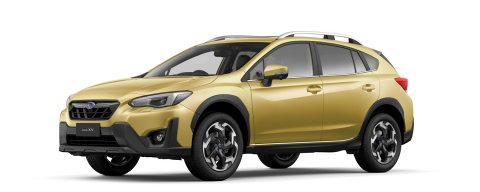 2021 Subaru XV Premium in plasma yellow
