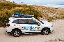 The Subaru Forester is the perfect vehicle for Surf2Surf