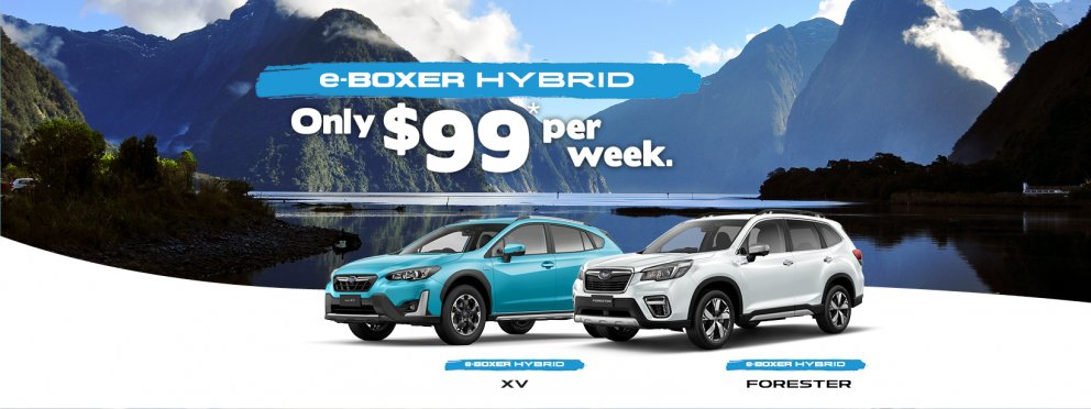 Get an e-Boxer Hybrid for only $99 per week.