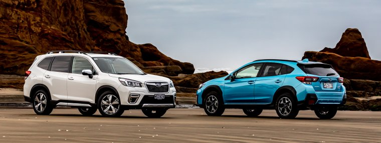 The all-new Subaru e-Boxer Hybrids are made for our environment.
