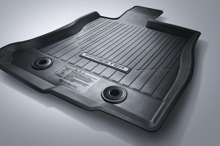 Subaru rubber mat set