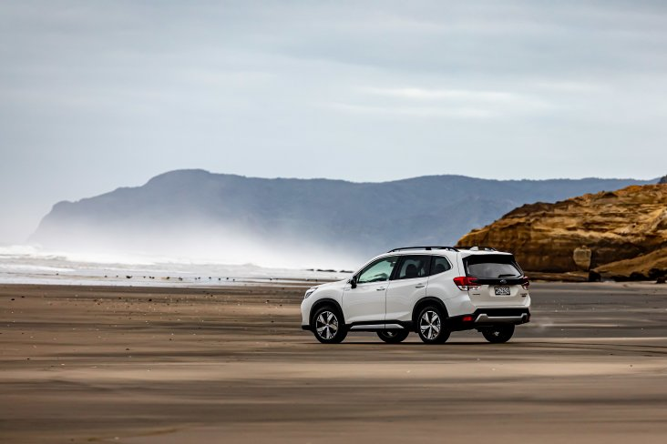 Subaru Forester e-Boxer Hybrid is made for our environment.