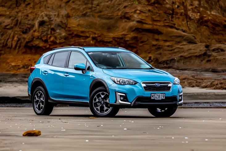 Subaru XV e-Boxer Hybrid is made for our environment. 2020 XV shown.