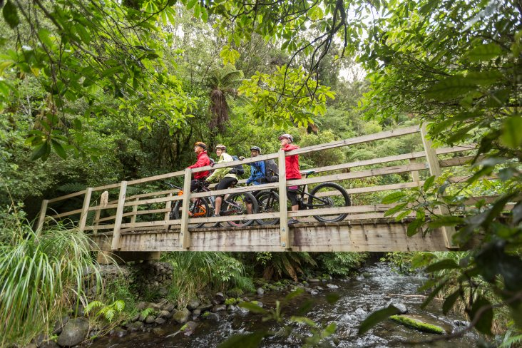 TCB have trails to suit all levels, including the Old Coach Road in Ohakune.