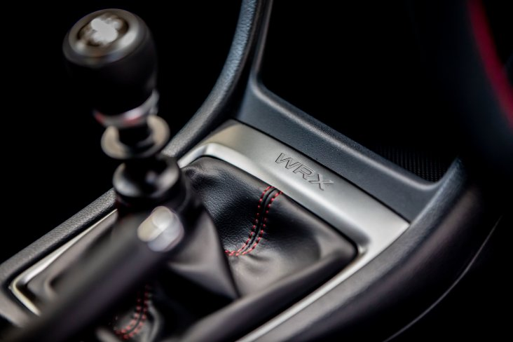 The Subaru SAIGO WRX is available in an 8-speed SLT or a 6-speed manual transmission.