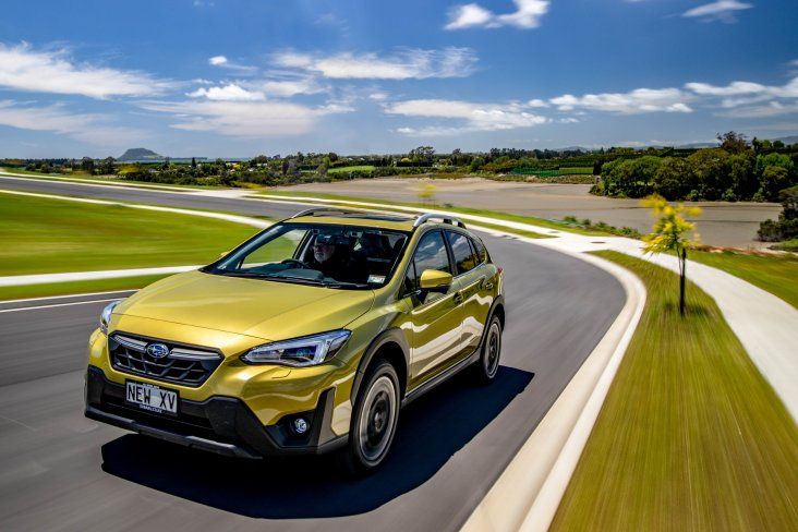 The 2021 Subaru XV sports a smart new front bumper and the fog light shape and front grille have also had a refreshing re-design.
