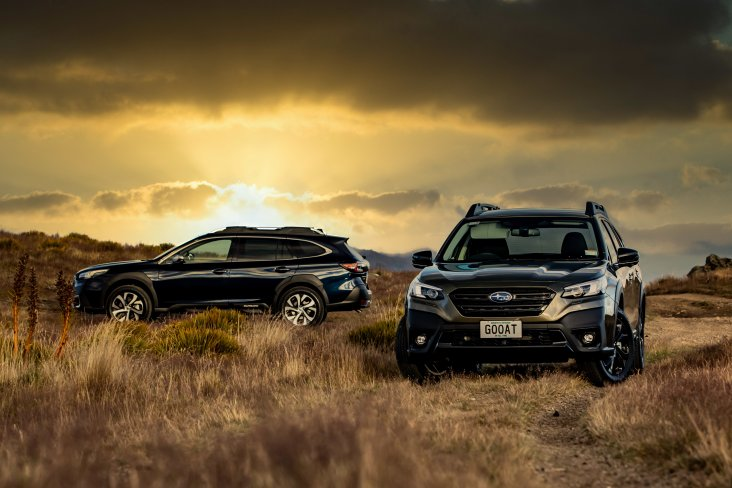 Subaru's 2021 Greatest Outback Of All Time (GOOAT).