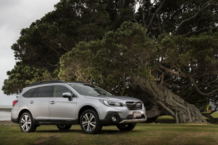 Subaru's popular large SUV, the Outback, continues as the number one seller, making up 36.5% of the total sales.