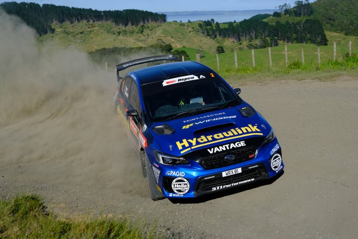 Nelson's Tony Rawstorn will return for his 11th year calling the pace notes for Hunt in the Subaru WRX STi. PHOTO: GEOFF RIDDER.