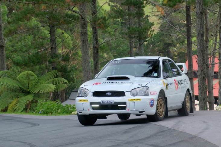 Subaru brand ambassador Ben Hunt was driving his 2004 Subaru WRX STI he built with his dad to do club rallies with at the 2019 Leadfoot Festival. PHOTO: GEOFF RIDDER.