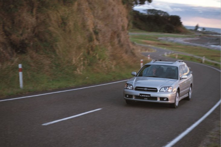 The Legacy is an iconic model in Subaru's history.