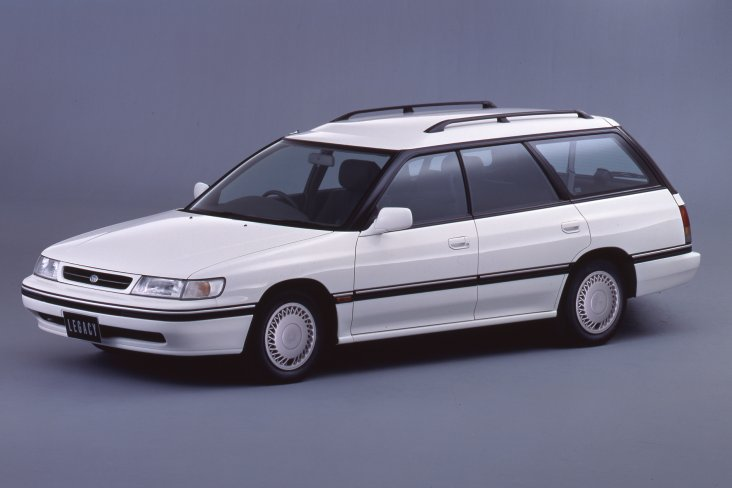 The first generation Subaru Legacy wagon.