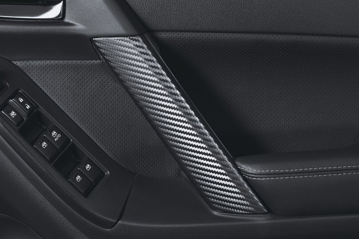 Carbon panel trim MT