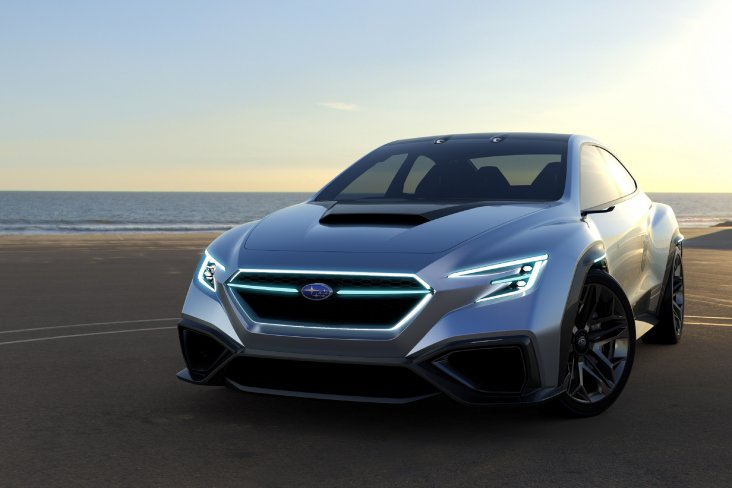 The Subaru VIZIV Performance Concept. Images are free for editorial use.
