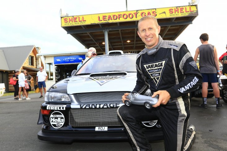 Flying Scotsman Alister McRae has done it again – winning his fourth consecutive Leadfoot Festival in the Vantage Subaru. PHOTO: GREG HENDERSON.