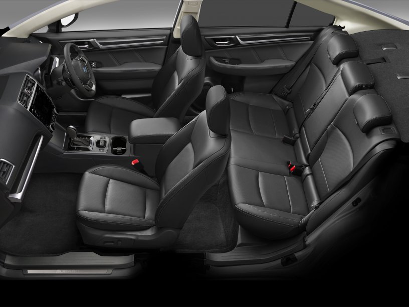 2020 Legacy interior side view