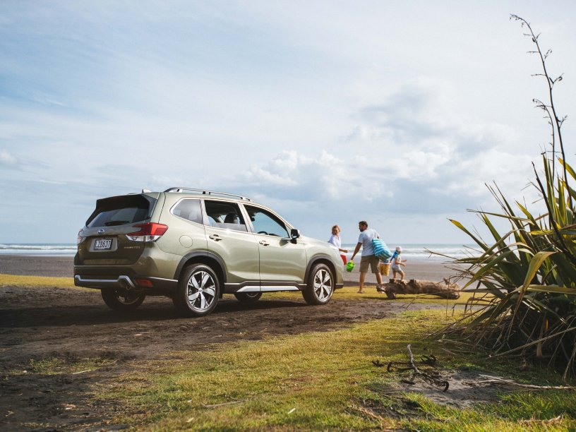 Subaru Forester from the Subaru SUV range helps you do extra