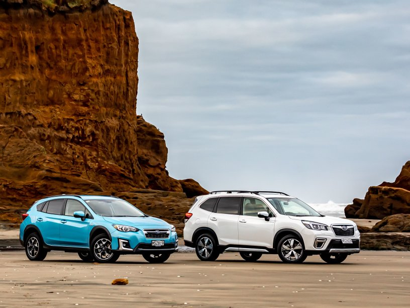 The all-new Subaru e-Boxer Hybrids are made for our environment