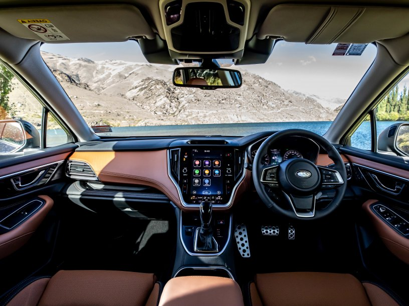 Outback Touring nappa leather tan interior