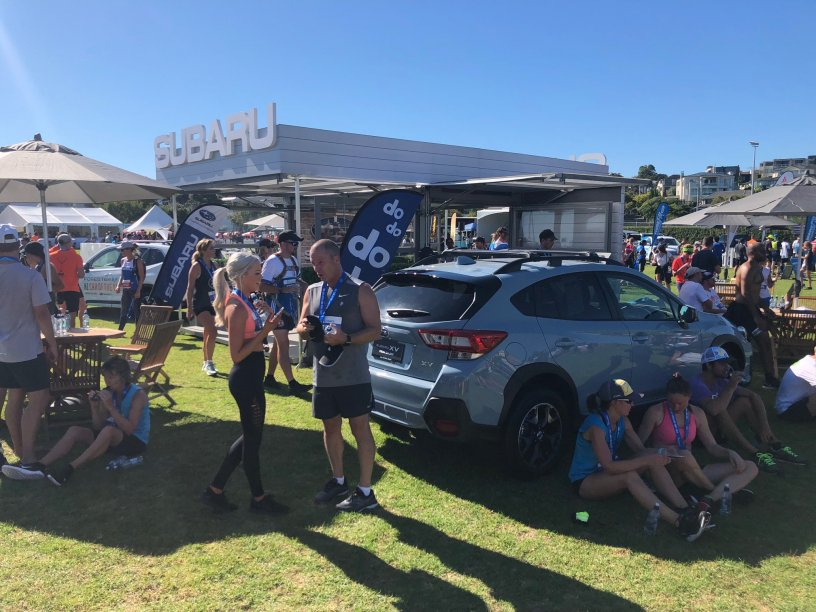Subaru at Round the Bays