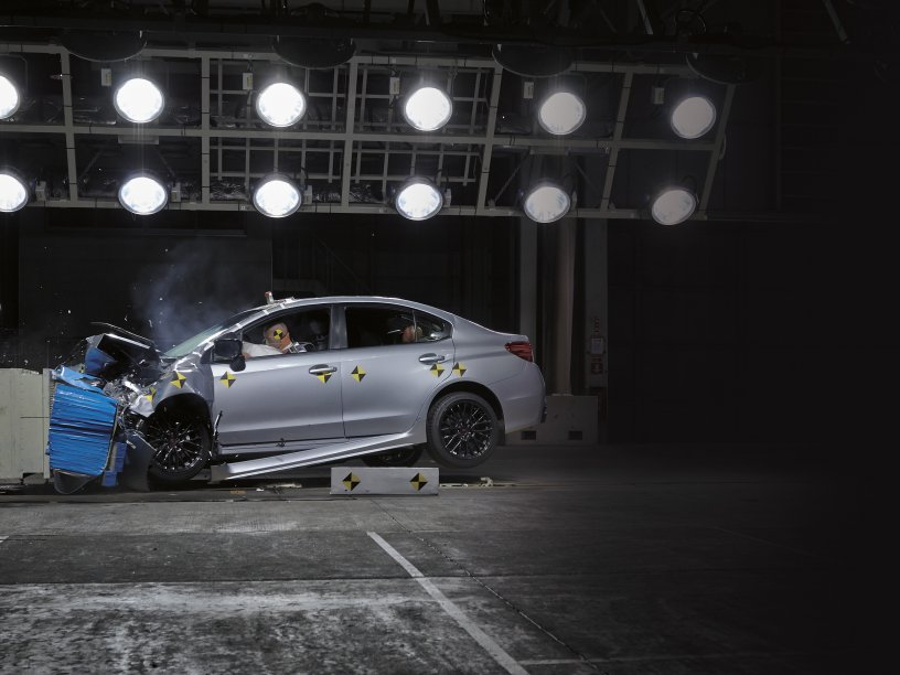 2016 WRX safety crash test