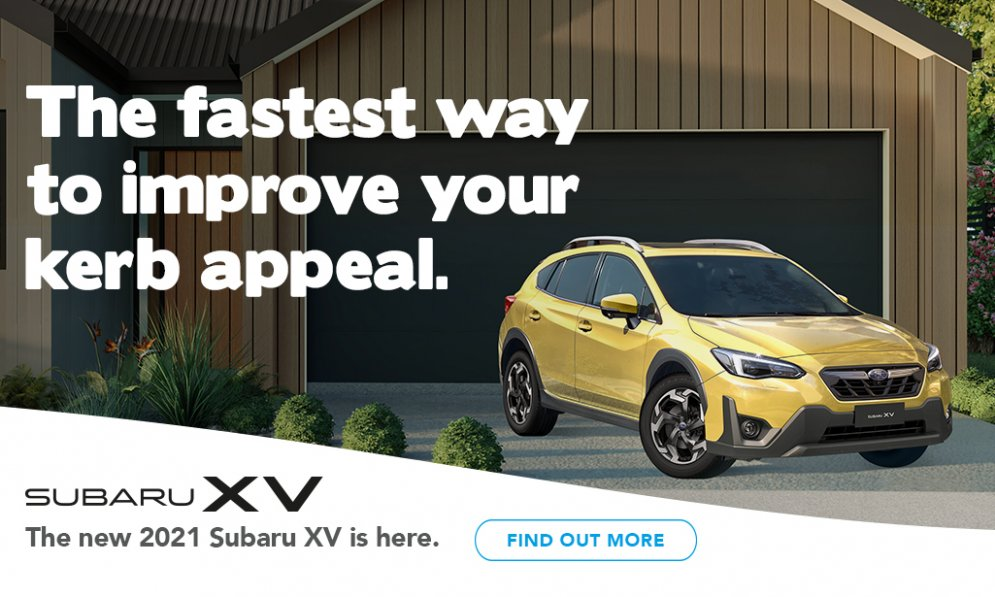 The Subaru XV is the fastest way to improve your kerb appeal.