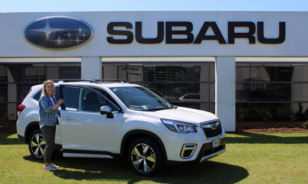 Matilda Green loves her Subaru Forester which is the 2018 New Zealand Car of the Year.
